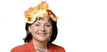 Mortler steht in Flammen