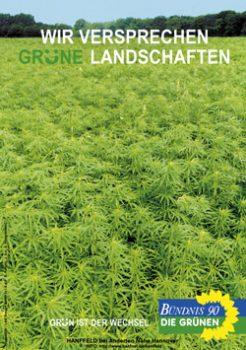 Abbildung 1: Wahlplakat der Grünen aus dem Jahr 1998.