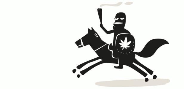 kascha-dotore-juli-reiter-zeichnung-hanfberatung-hanfjournal-kiffer-hilfe-pferd-fackel