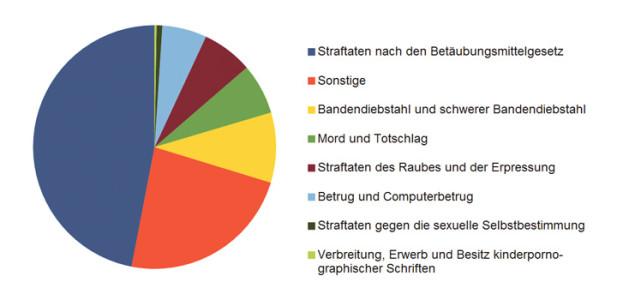 statistik-strafverfolgung-diagramm-torte-tortendiagramm-stafverfolgung-telekommunikationsüberwachung-tkü-betäubungsmittel