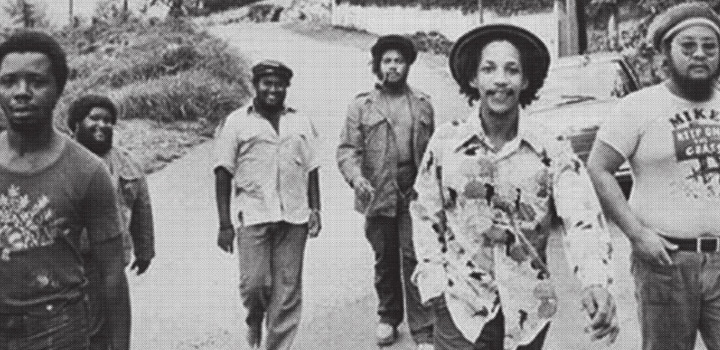 Mikey Chung with Augustus Pablo, Mikey Boo Richards, Jacob Miller & Inner Circle