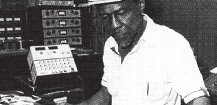 Sir Coxsone Dodd im legendären Studio One
