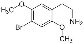 2cb-chemie-formel-strukturformel