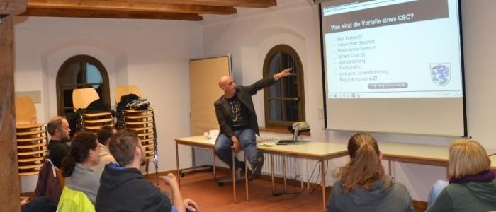 Seminar CSCistOK! in Ingolstadt / Foto: Matthias Fuckerer