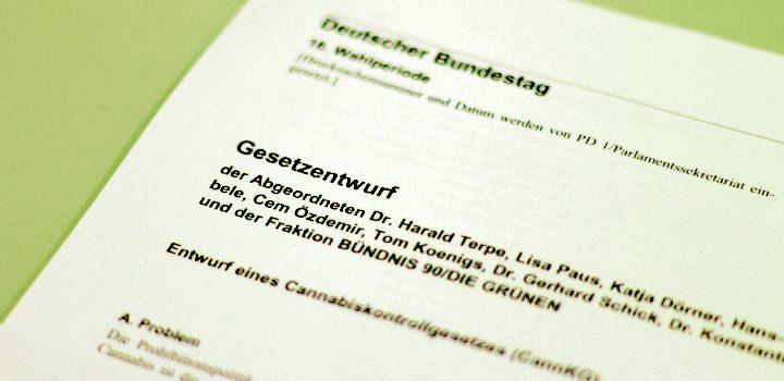 titel-gesetzentwurf-deckblatt-cannabiskontrollgesetz-grüne-bundestag