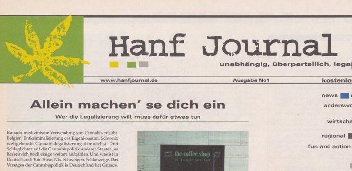 Erstausgabe-Hanfjournal-Deckblatt