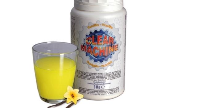 clear machine