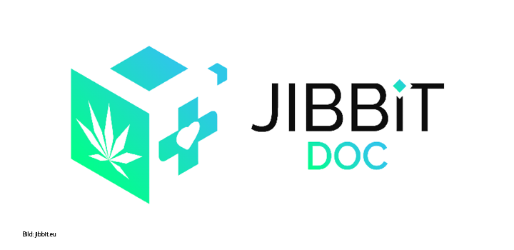 Die Jibbit App für Hanfpatienten Blockchain-Technologie für den medizinischen Gebrauch.