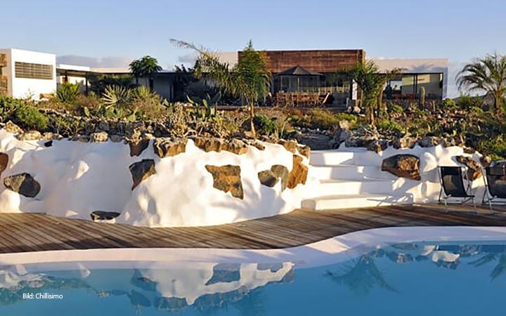 Chillen auf der Sonneninsel-Fuerteventura: Die Villa Jack Herer